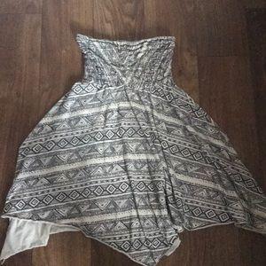 Billabong Strapless dress sz medium